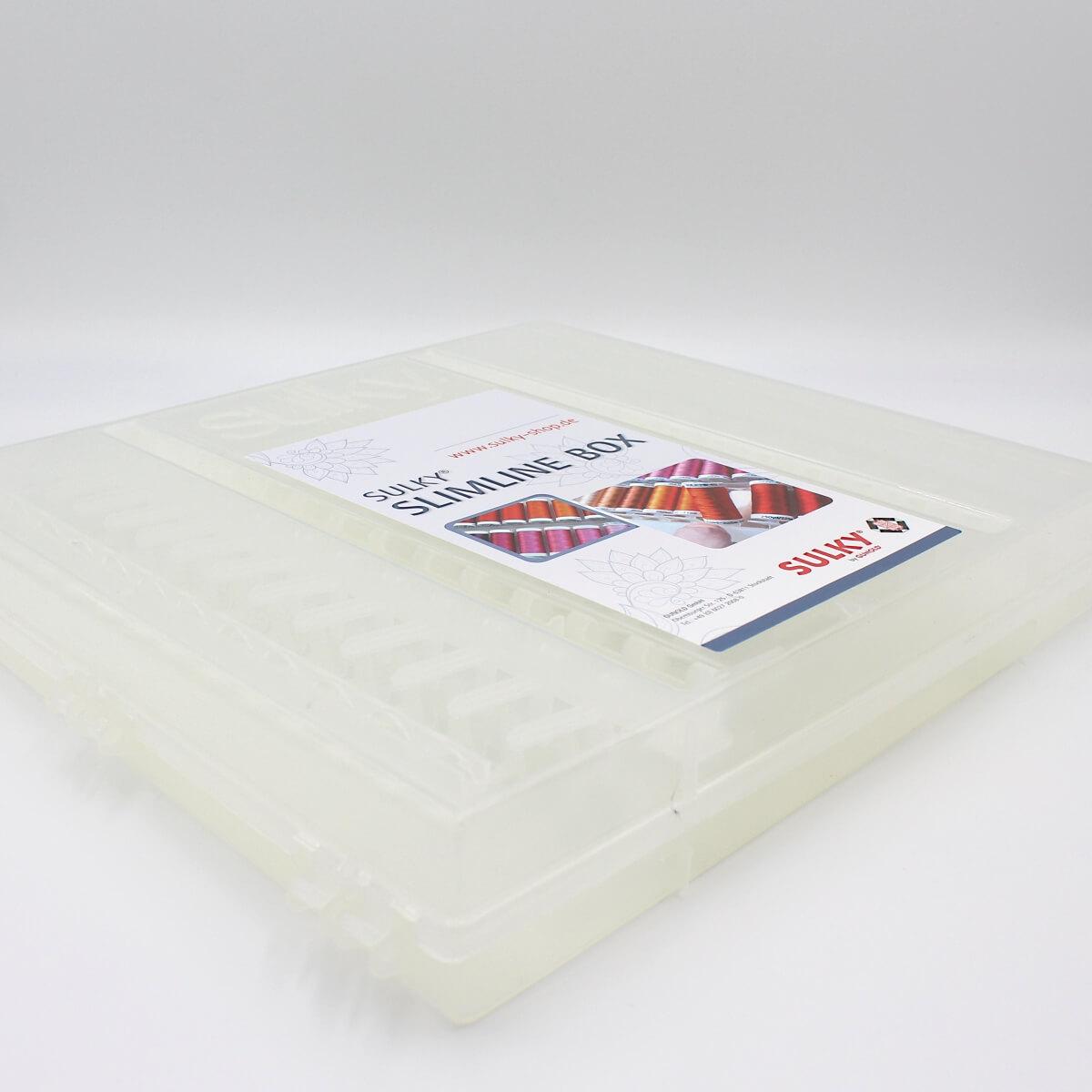 SULKY ORIGINAL SLIMLINE BOX leer, für 104 Snap Spulen