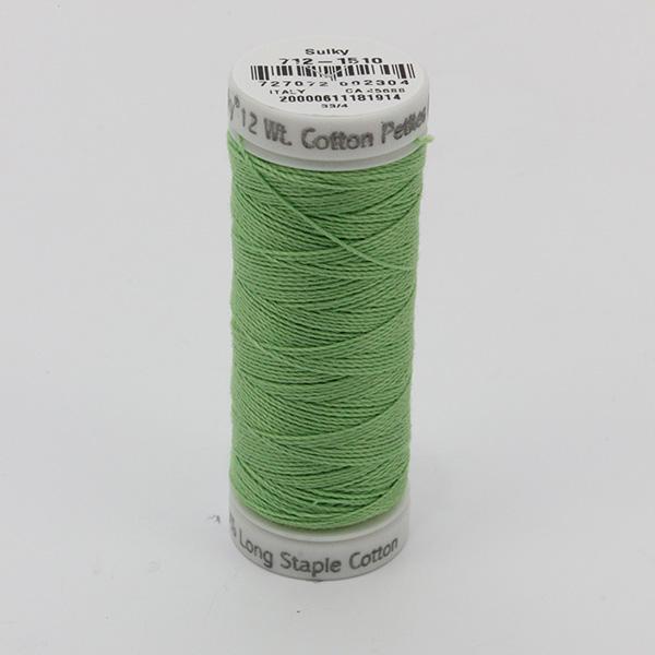 SULKY COTTON PETITES 12, 46m Snap Spulen -  Farbe 1510 Lime Green