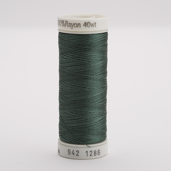 SULKY RAYON 40 farbig, 225m Snap Spulen -  Farbe 1286 Dk. French Green