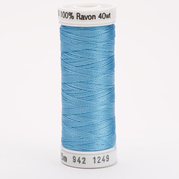 SULKY RAYON 40 farbig, 225m Snap Spulen -  Farbe 1249 Cornflower Blue
