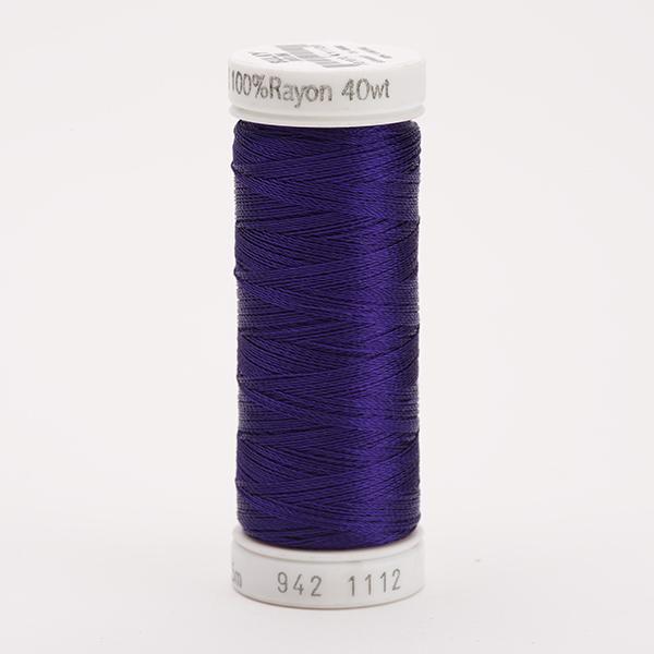 SULKY RAYON 40 farbig, 225m Snap Spulen -  Farbe 1112 Royal Purple