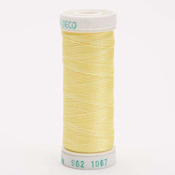 SULKY POLY DECO 40, 225m Snap Spulen -  Farbe 1067 Lemon Yellow