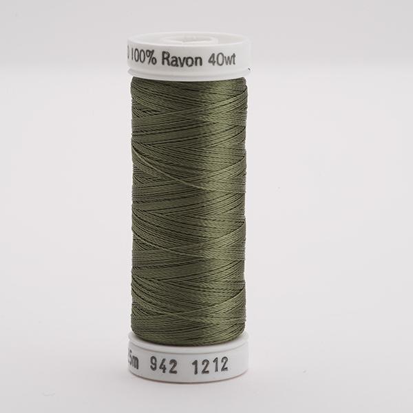 SULKY RAYON 40 farbig, 225m Snap Spulen -  Farbe 1212 Khaki