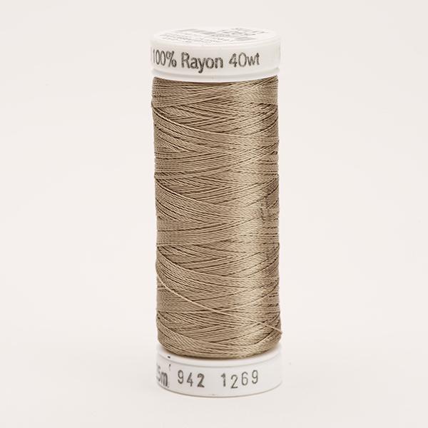 SULKY RAYON 40 farbig, 225m Snap Spulen -  Farbe 1269 Mushroom
