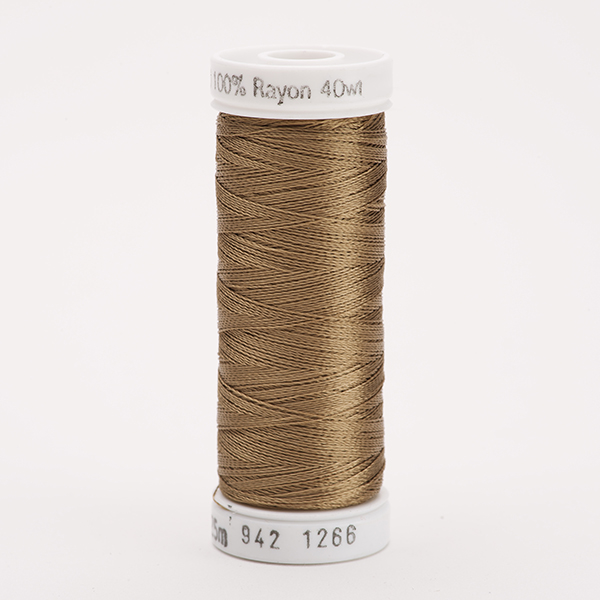 SULKY RAYON 40 farbig, 225m Snap Spulen -  Farbe 1266 Toast