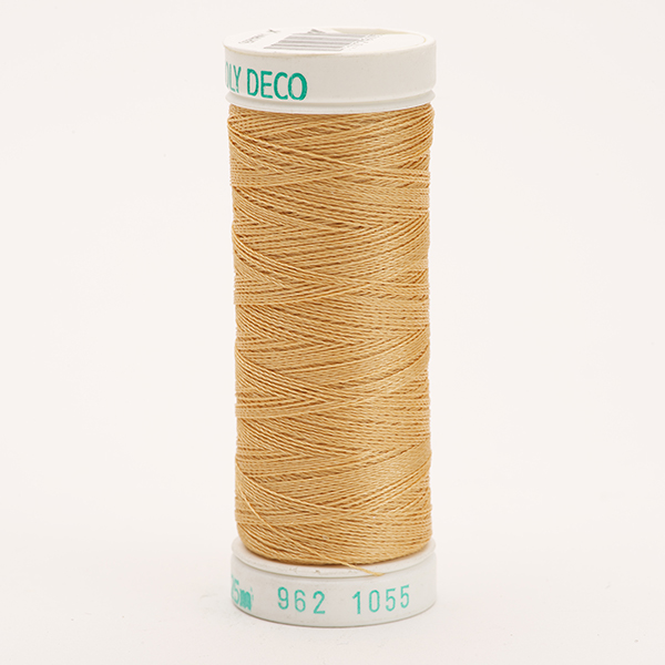 SULKY POLY DECO 40, 225m Snap Spulen -  Farbe 1055 Tawny Tan