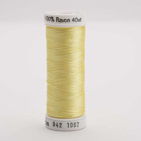 SULKY RAYON 40 farbig, 225m Snap Spulen -  Farbe 1067 Lemon Yellow