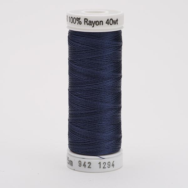 SULKY RAYON 40 farbig, 225m Snap Spulen -  Farbe 1294 Deep Slate Gray