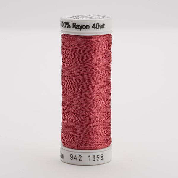 SULKY RAYON 40 farbig, 225m Snap Spulen -  Farbe 1558 Tea Rose