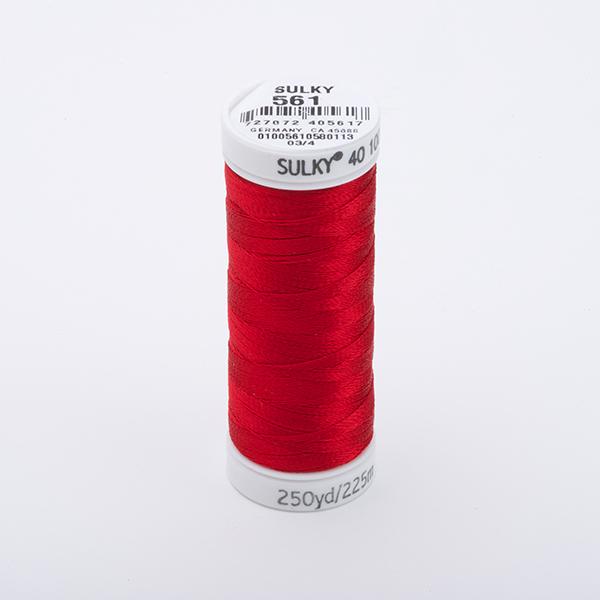 SULKY RAYON 40 farbig, 225m Snap Spulen -  Farbe 0561 Lipstick