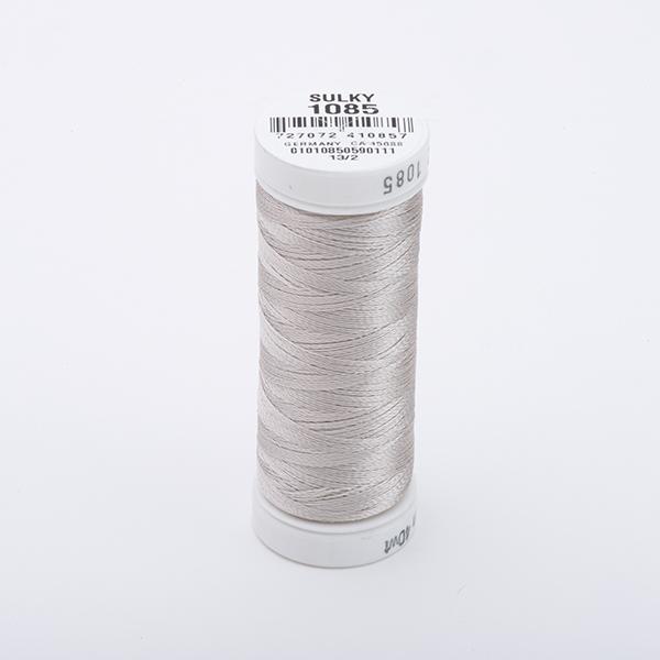 SULKY RAYON 40 farbig, 225m Snap Spulen -  Farbe 1085 Silver