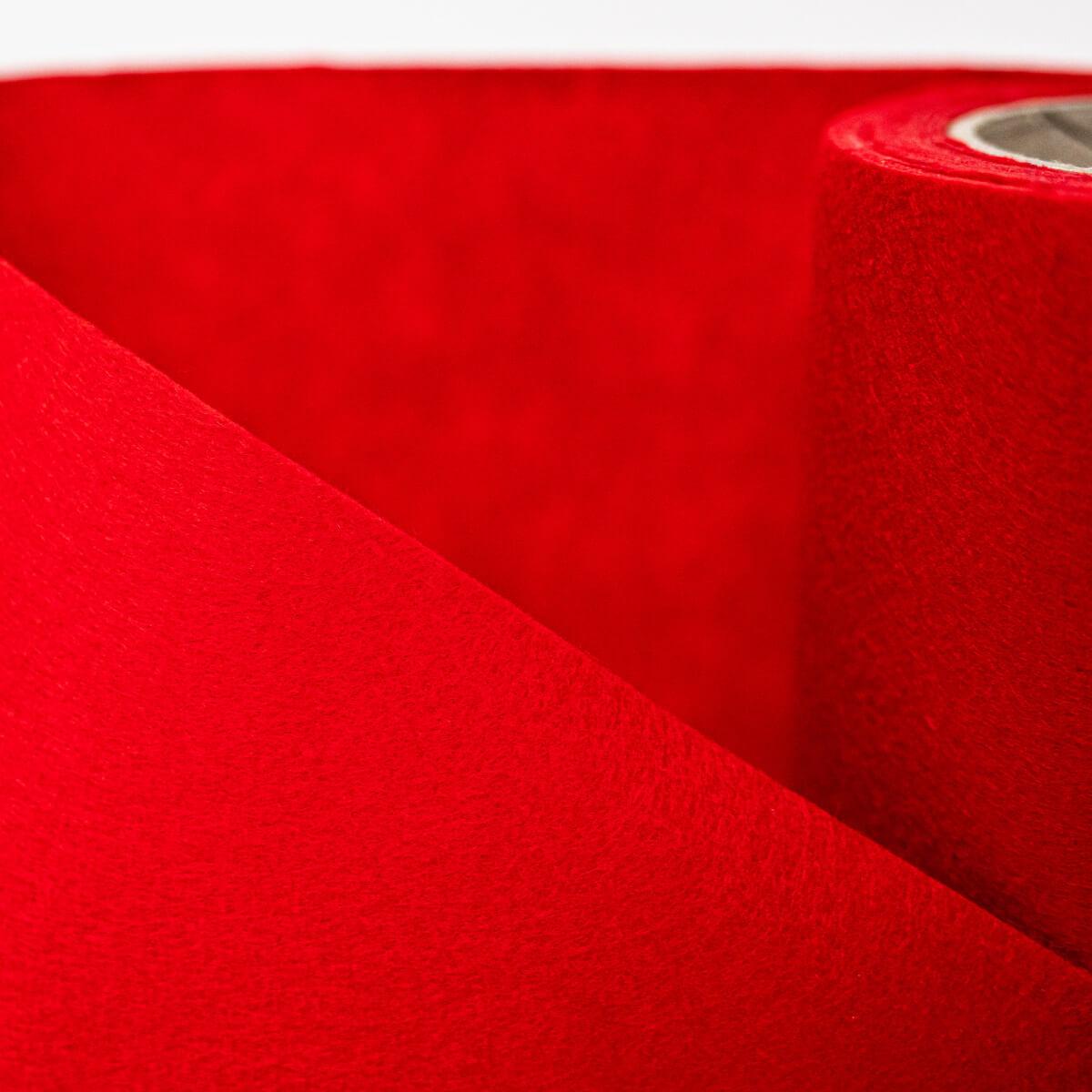 SULKY FELTY, waschbar, 25cm x 3m - Farbe 436 rot