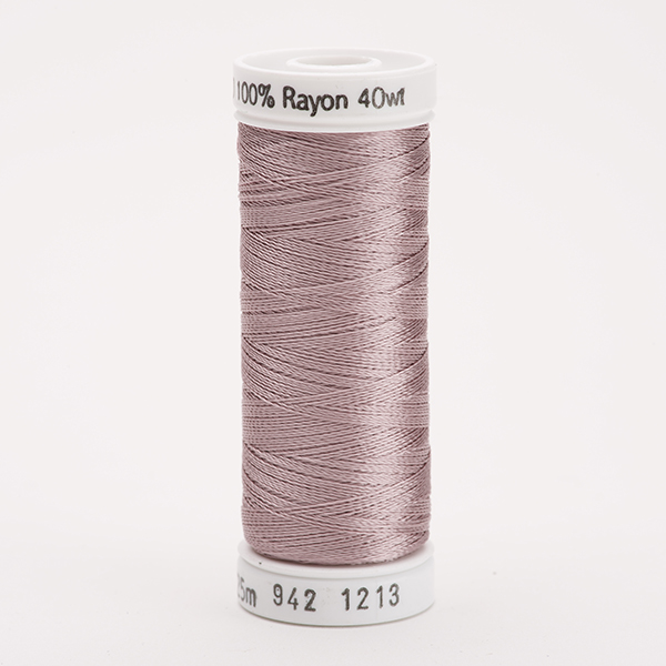 SULKY RAYON 40 farbig, 225m Snap Spulen -  Farbe 1213 Taupe