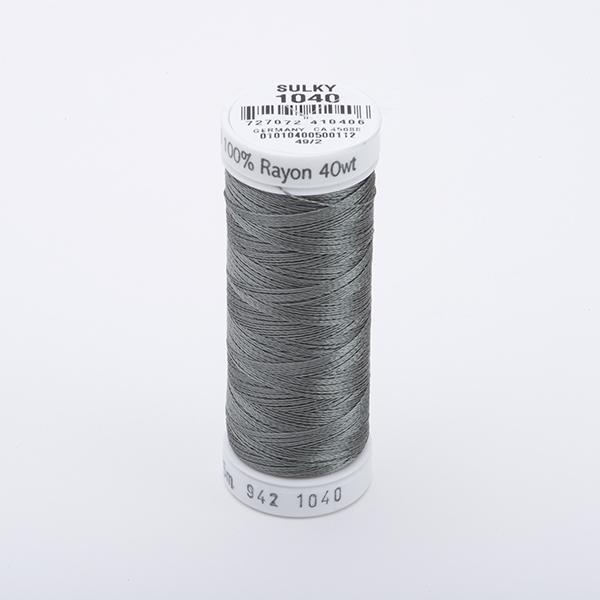 SULKY RAYON 40 farbig, 225m Snap Spulen -  Farbe 1040 Med. Dk. Khaki