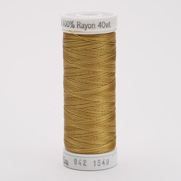 SULKY RAYON 40 farbig, 225m Snap Spulen -  Farbe 1549 Flax