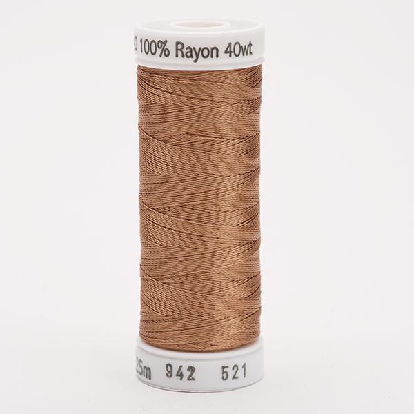 SULKY RAYON 40 farbig, 225m Snap Spulen -  Farbe 0521 Nutmeg