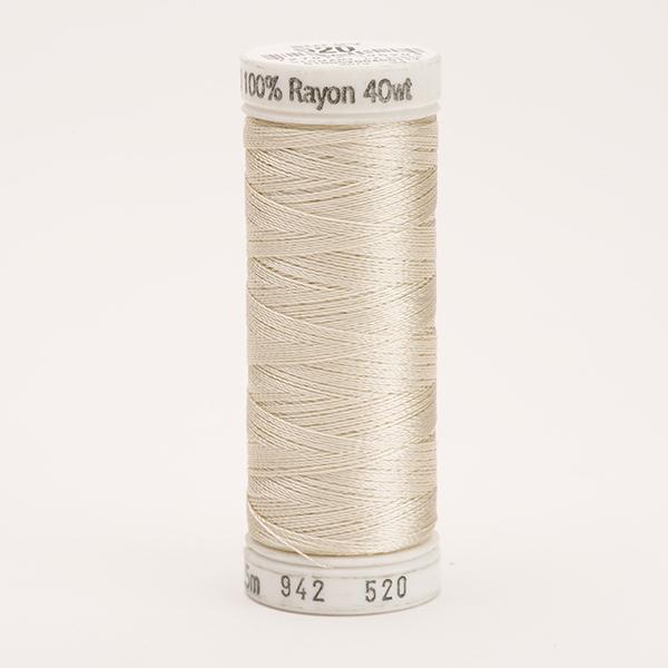 SULKY RAYON 40 farbig, 225m Snap Spulen -  Farbe 0520 Bone