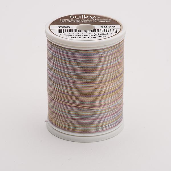 SULKY COTTON 30, 450m King Spulen -  Farbe 4078 Rosewood  multicolour