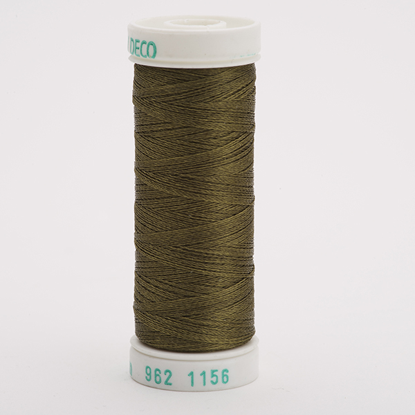 SULKY POLY DECO 40, 225m Snap Spulen -  Farbe 1156 Lt. Army Green