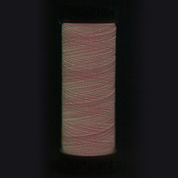 SULKY GLOWY,  100m Snap Spulen - Farbe 203 Pink