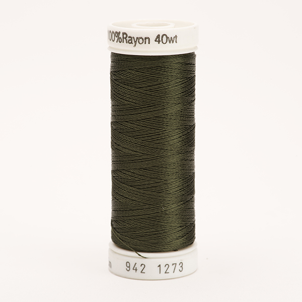 SULKY RAYON 40 farbig, 225m Snap Spulen -  Farbe 1273 Dk. Forest