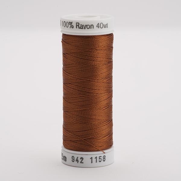 SULKY RAYON 40 farbig, 225m Snap Spulen -  Farbe 1158 Dk. Maple