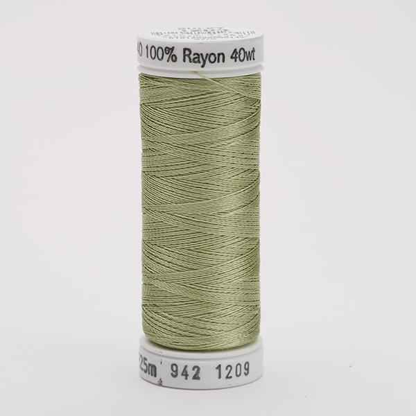 SULKY RAYON 40 farbig, 225m Snap Spulen -  Farbe 1209 Lt. Avocado