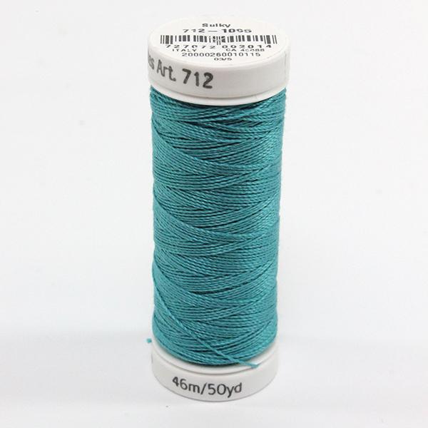 SULKY COTTON PETITES 12, 46m Snap Spulen -  Farbe 1095 Turquoise
