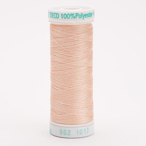 SULKY POLY DECO 40, 225m Snap Spulen -  Farbe 1017 Pastel Peach