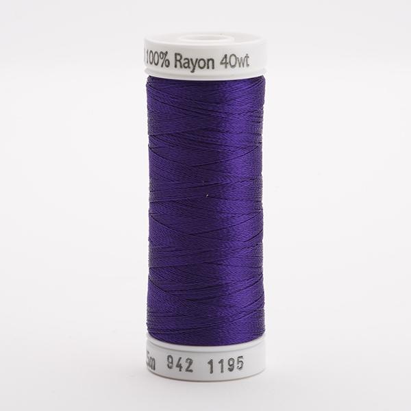 SULKY RAYON 40 farbig, 225m Snap Spulen -  Farbe 1195 Dk. Purple