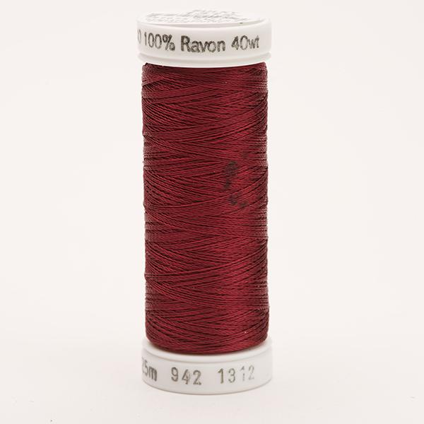 SULKY RAYON 40 farbig, 225m Snap Spulen -  Farbe 1312 Wine