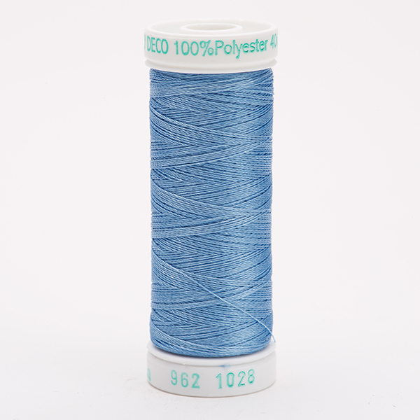 SULKY POLY DECO 40, 225m Snap Spulen -  Farbe 1028 Baby Blue