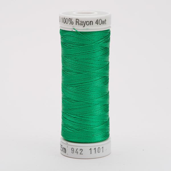 SULKY RAYON 40 farbig, 225m Snap Spulen -  Farbe 1101 True Green