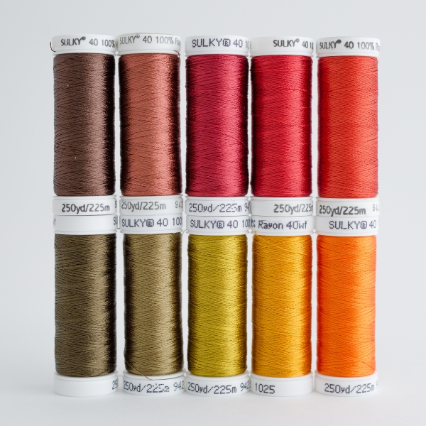 SULKY RAYON 40 - INDIAN SUMMER (10 x 225m Snap Spulen)
