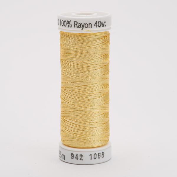 SULKY RAYON 40 farbig, 225m Snap Spulen -  Farbe 1066 Primrose