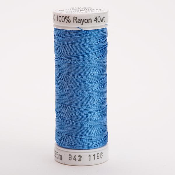 SULKY RAYON 40 farbig, 225m Snap Spulen -  Farbe 1196 Blue
