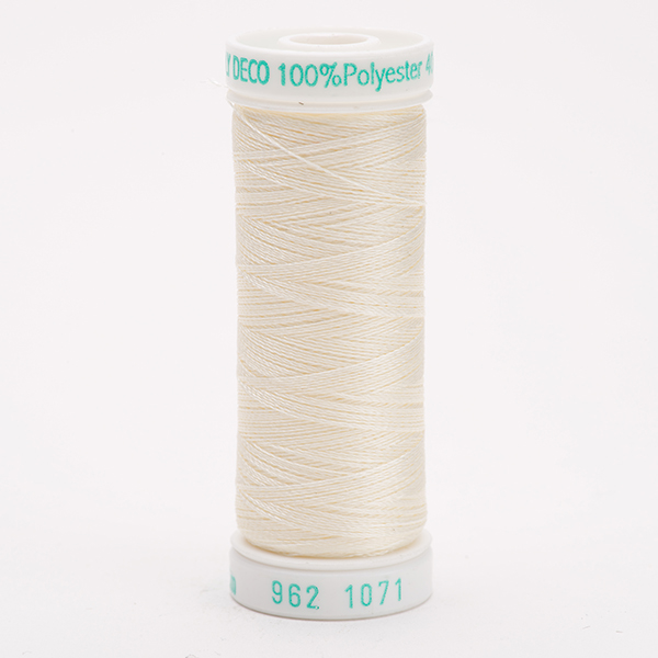 SULKY POLY DECO 40, 225m Snap Spulen -  Farbe 1071 Off White