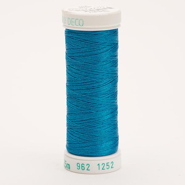 SULKY POLY DECO 40, 225m Snap Spulen -  Farbe 1252 Bright Peacock