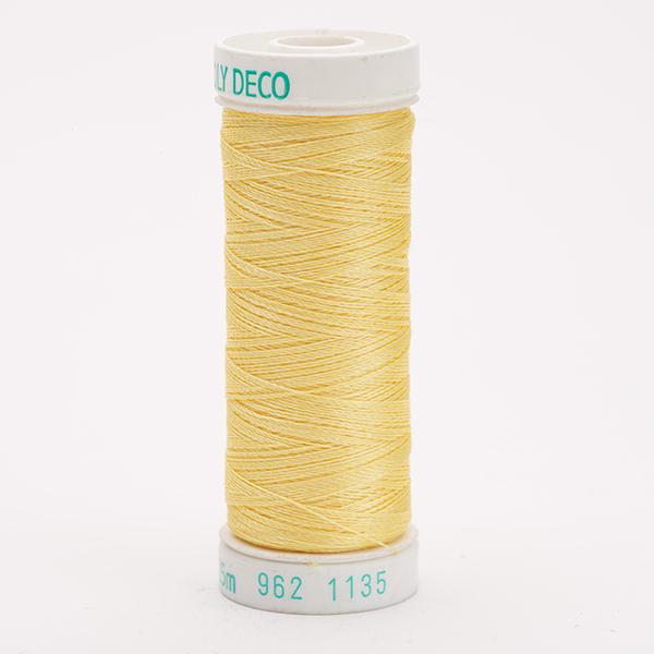 SULKY POLY DECO 40, 225m Snap Spulen -  Farbe 1135 Pastel Yellow