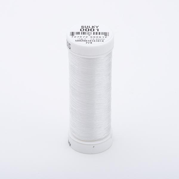 SULKY INVISIBLE klar, 400m Snap Spulen - Farbe 0001 Clear