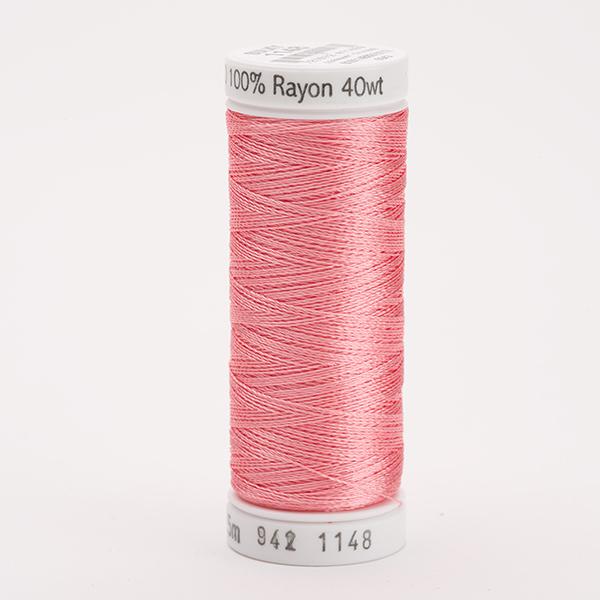 SULKY RAYON 40 farbig, 225m Snap Spulen -  Farbe 1148 Lt. Coral