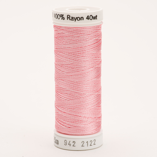 SULKY RAYON 40 ombre/multicolor, 225m Snap Spulen -  Farbe 2122 Vari-Baby Pinks