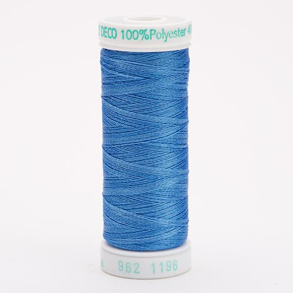 SULKY POLY DECO 40, 225m Snap Spulen -  Farbe 1196 Blue