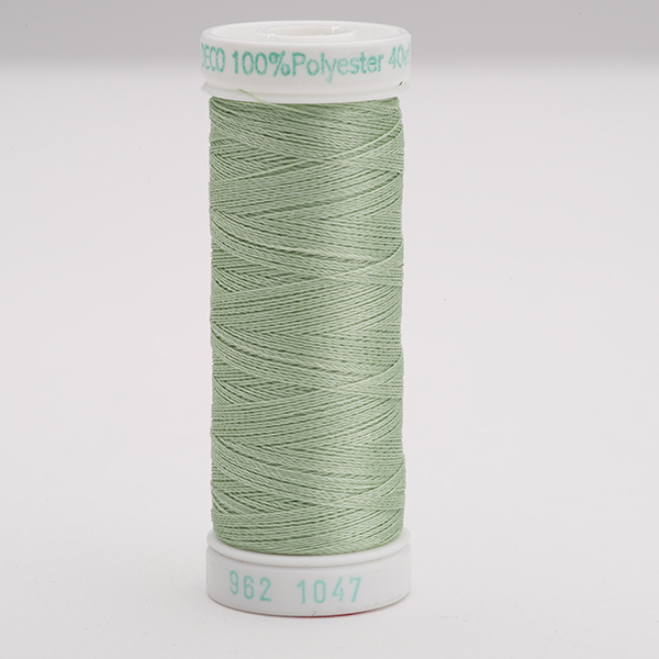 SULKY POLY DECO 40, 225m Snap Spulen -  Farbe 1047 Mint Green