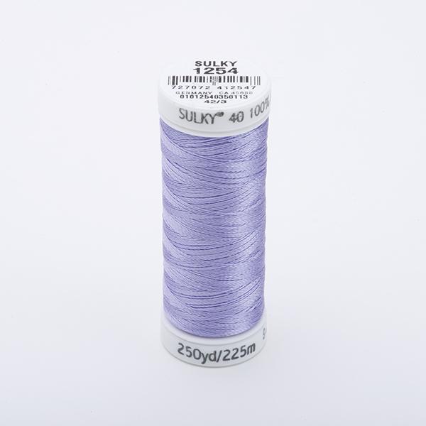 SULKY RAYON 40 farbig, 225m Snap Spulen -  Farbe 1254 Dusty Lavender