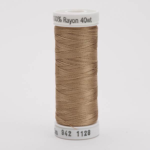 SULKY RAYON 40 farbig, 225m Snap Spulen -  Farbe 1128 Dk. Ecru