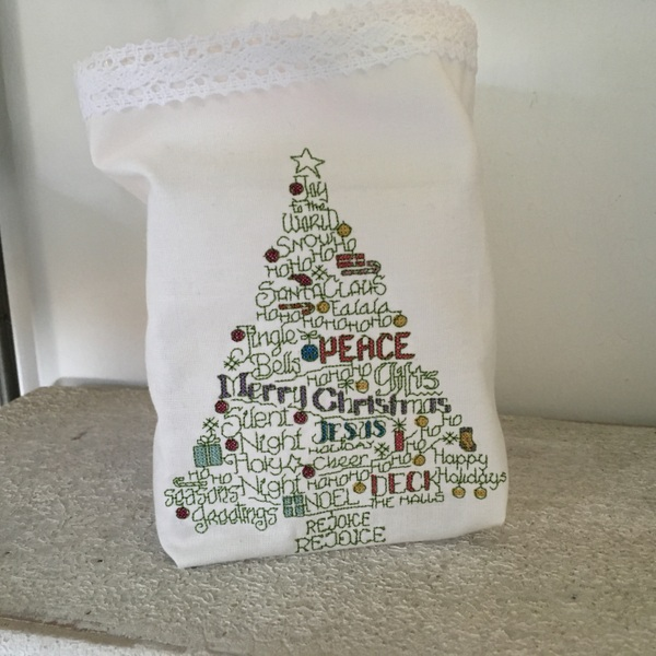 Stickdesign Christmas Tree Word Play (Download)