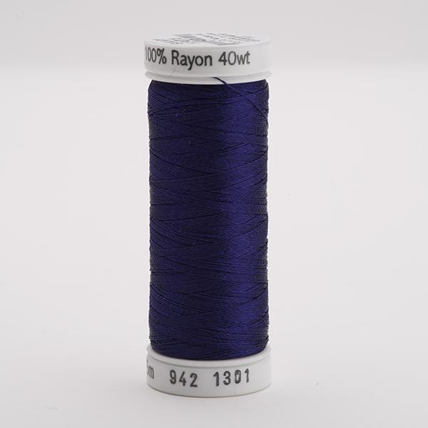 SULKY RAYON 40 farbig, 225m Snap Spulen -  Farbe 1301 Deep Eggplant