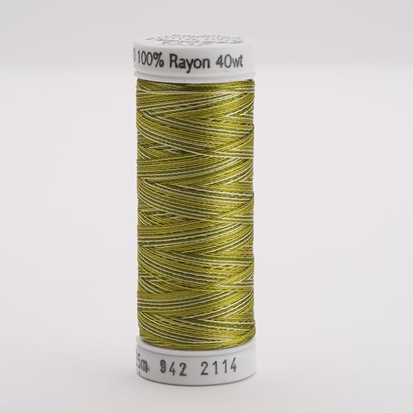 SULKY RAYON 40 ombre/multicolor, 225m Snap Spulen -  Farbe 2114 Vari-Avocado Greens