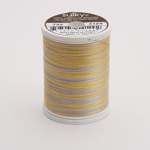 SULKY COTTON 30, 450m King Spulen -  Farbe 4129 Beachwood  multicolour